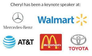 cheryl keynote speaker